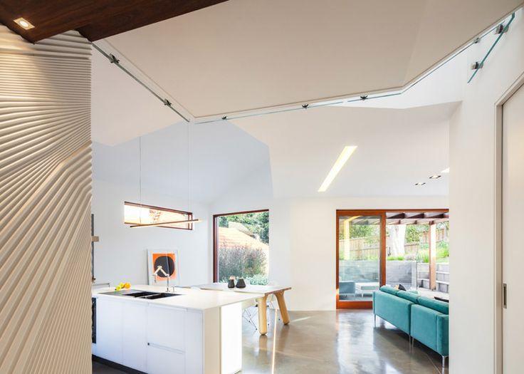 Bijl Architecture Naremburn House flow through kitchen living