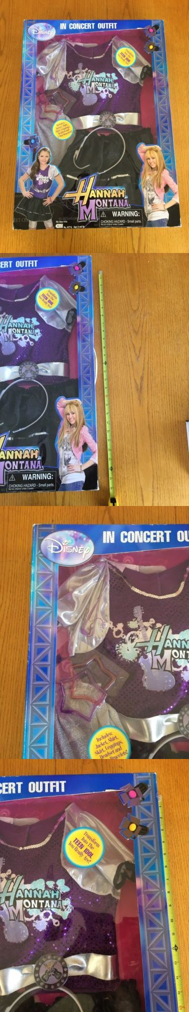 Hannah Montana 158763: Rare Hannah Montana In Concert Outfit - Fits Sizes 4-6X - New In Box -> BUY IT NOW ONLY: $39.59 on eBay!