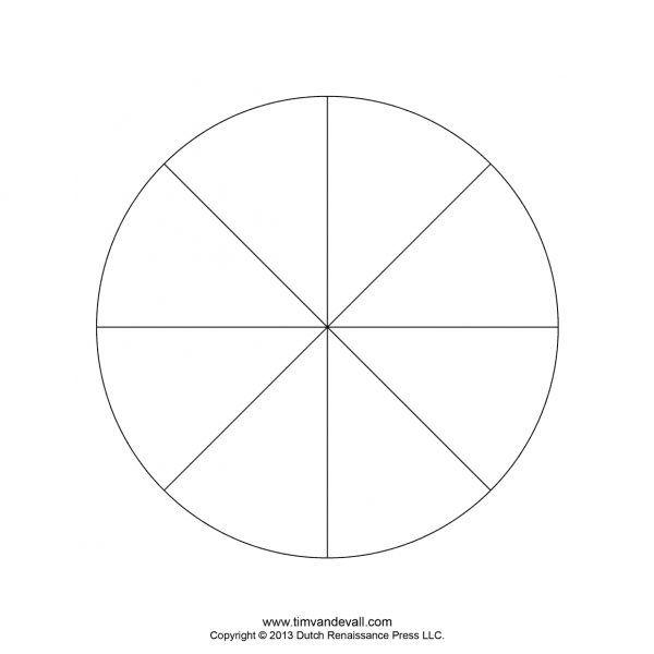 Blank Pie Chart Templates Make A Pie Chart Regarding 5 Piece Pie