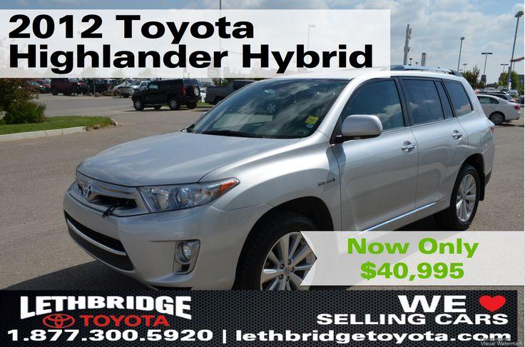 2012 Toyota Highlander HYBRID for sale in Lethbridge, AB