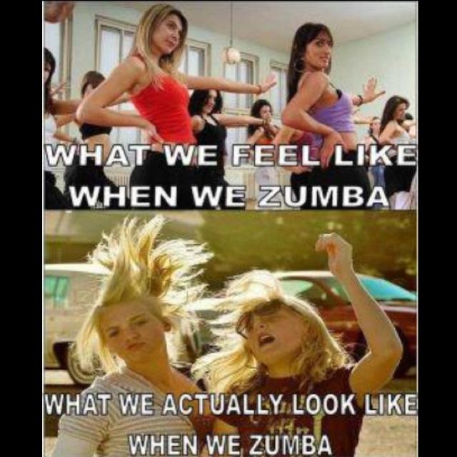 Zumba funny...another one  @Katrina Ol