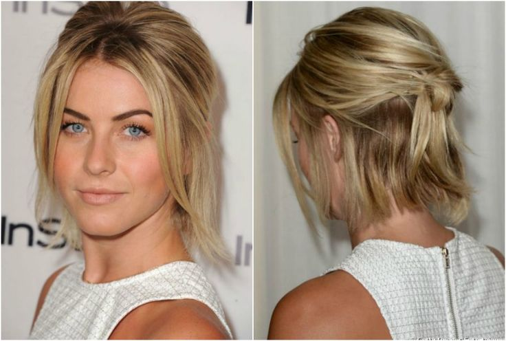 Fashion Fade Magazine : 10 Ways To Style Short Hair: Half up Half Down