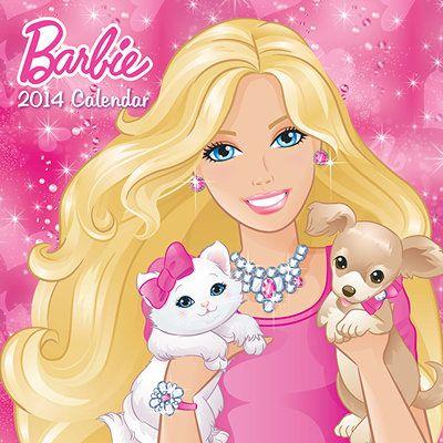 684 best barbie friends images on pinterest princesses alpha barbie 2014 wall calendar voltagebd Image collections