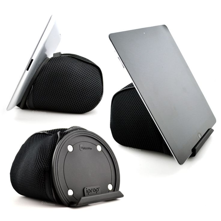iProp Tablet Bean Bag Lap/Bed Stand iPad 1 2 3 4, Airs,