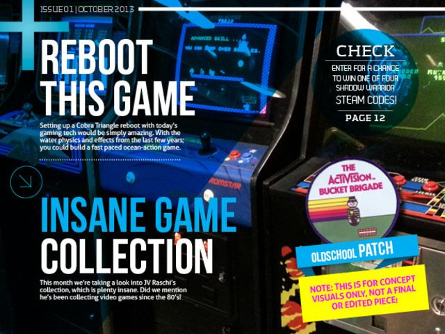 RETRO: The Multi-Format, Throw-Back Video Game Magazine by Mike Kennedy — Kickstarter