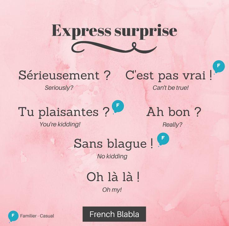 Surprise française !