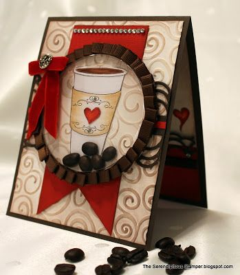 The Serendipitous Stamper: A Gift Of Coffee Shaker Card