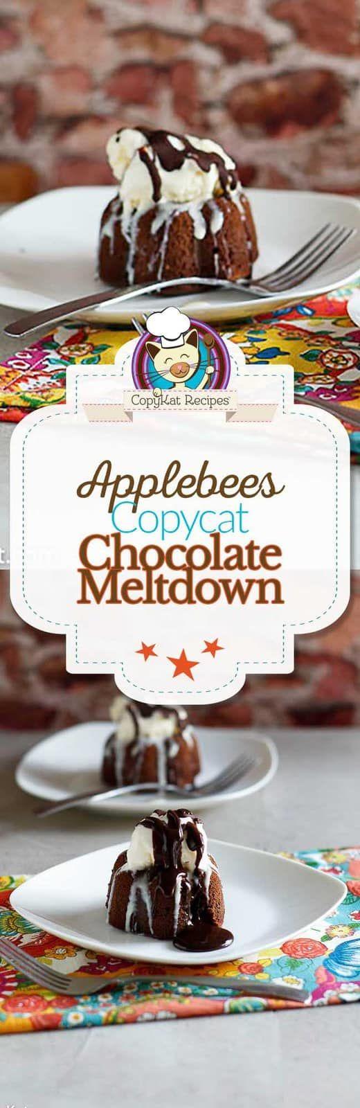 Applebees Lava Cake Recipe