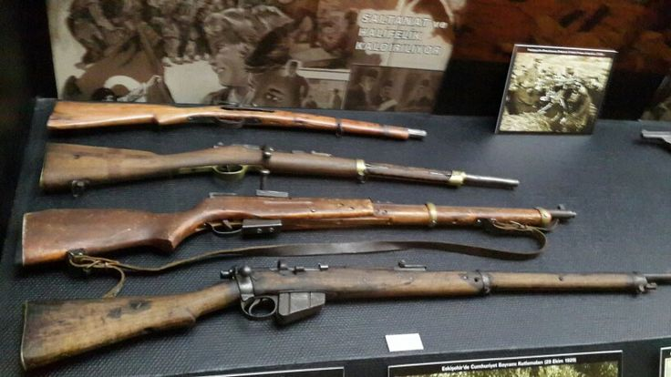 Some rifles from Turkish War of Independence