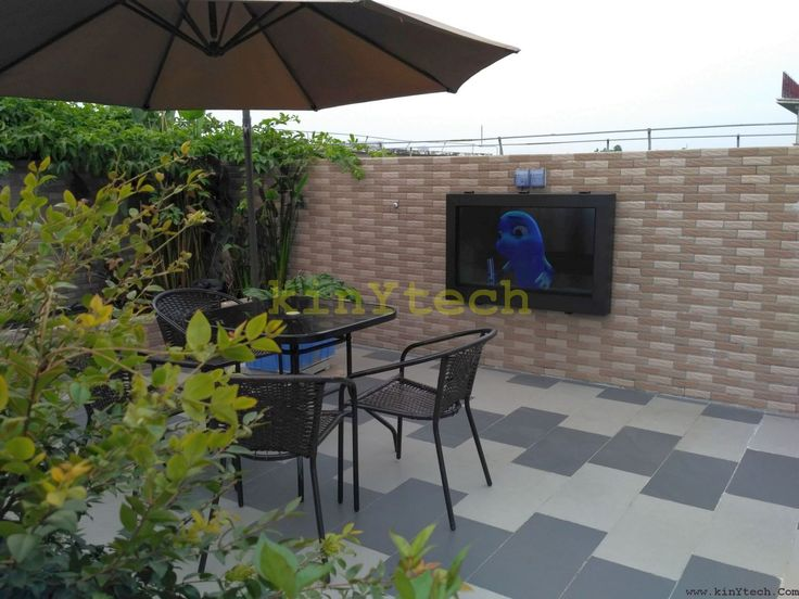 outdoor tv enclosure from kinytech outdoor tv tv enclosure outdoor tv