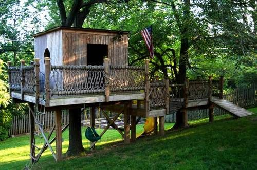De 34 b sta cabanes bilderna p pinterest - Cabane au fond du jardin zimboum villeurbanne ...
