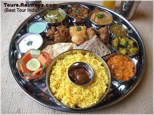 Best Indian Food : Thali