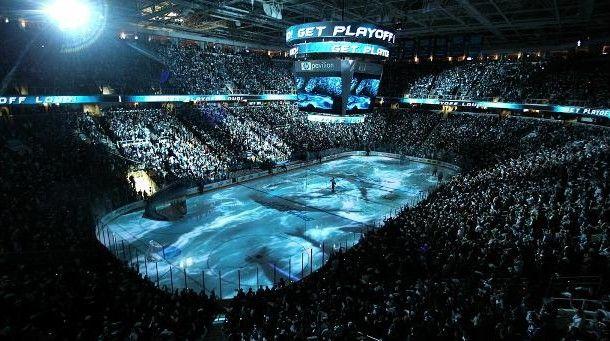 "SAP Center (a.k.a. ""The Shark Tank"") -- Home of the San Jose Sharks #NHL #MyHometownPins"