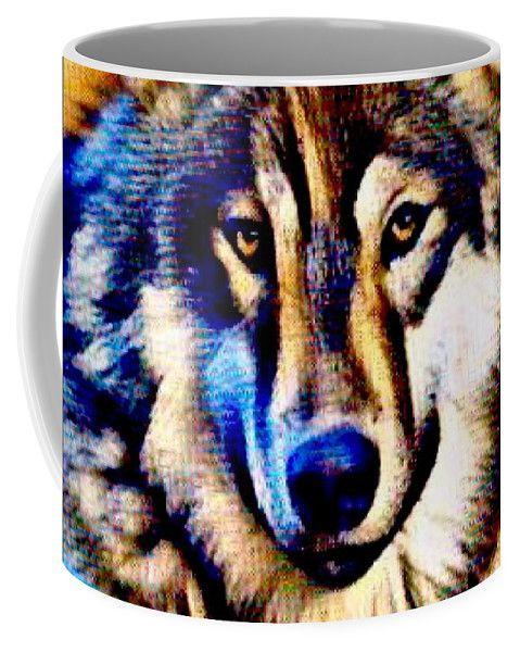 Coffee Mug featuring the photograph She Wolf by Breena Briggeman