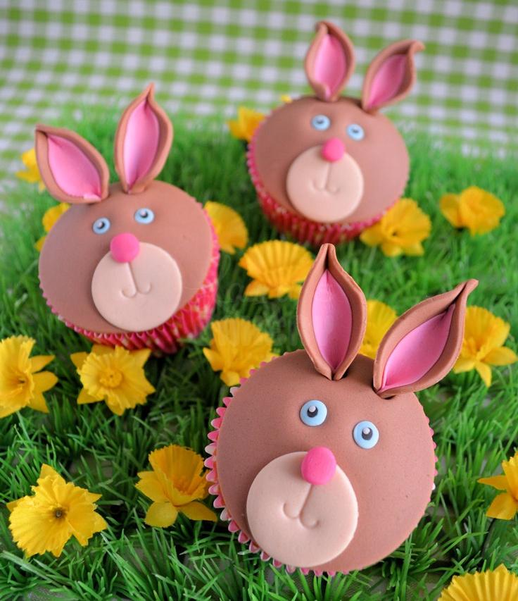 How to rabbit cupcakes