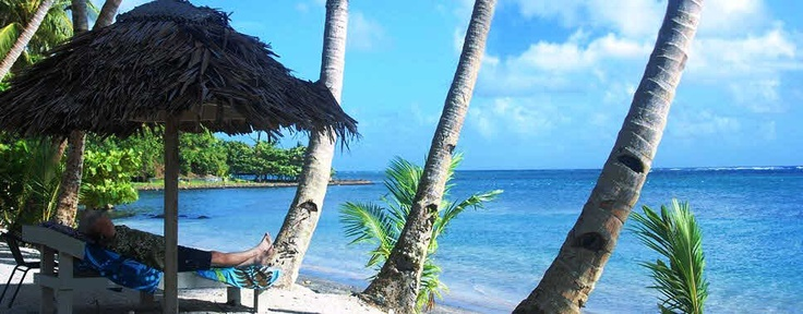 Relax & unwind at Le Uaina Seaside Resort #samoa