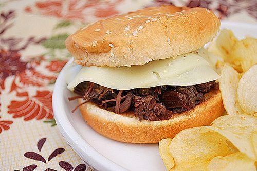 [Crockpot] 'Best Ever Beef Dip Sandwiches'