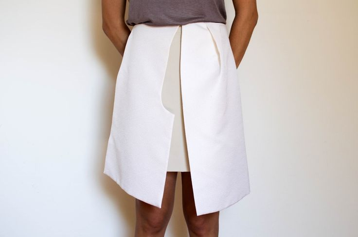 Skirt with panels