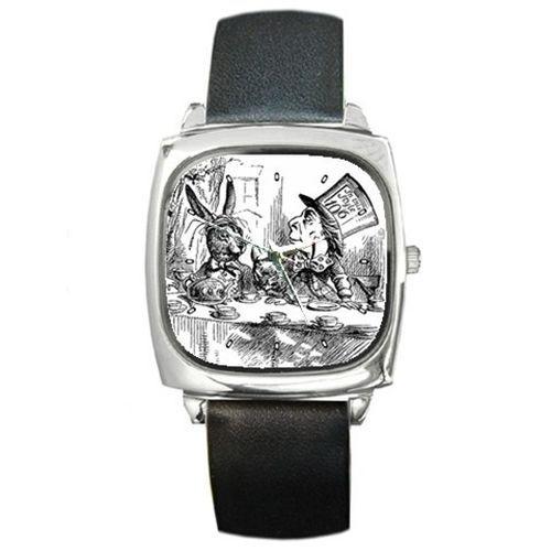 Mad Hatter March Hare Alice In Wonderland Wrist Watch #Casual #watch #madhatter #aliceinwonderland