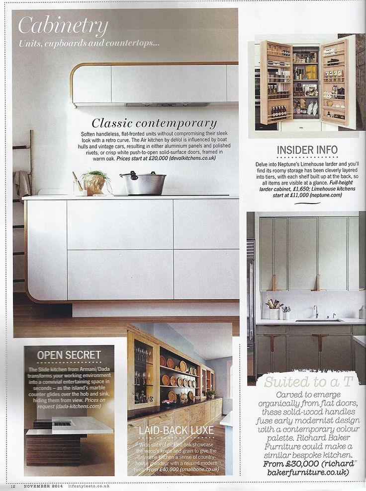 Both Our Blue Shaker Utility And Air Kitchen Have Been Featured In The Ku0026B  Supplement In. Living EtcDiningKitchensInterior DesignBlogNovemberInterior  ...