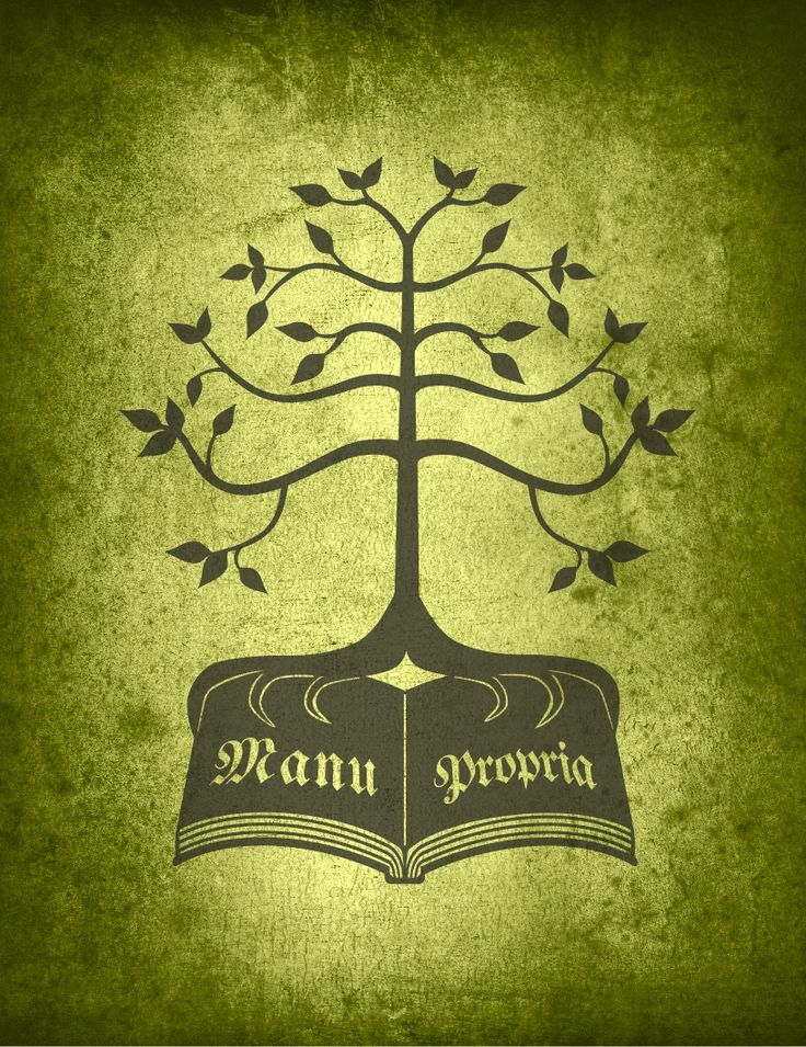Kinsignia inspired by Game of Thrones Sigil. Printed on a green textured background.