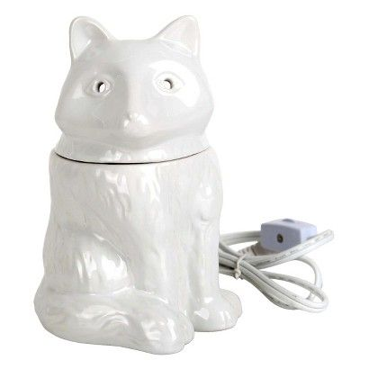 Home Scents Electric Wax Melt Warmer - White Fox (includes 6pk Waterfall Scent Wax Melts)