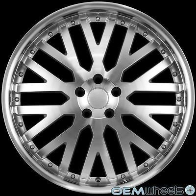 "20"" SILVER MACHINE WHEELS FITS LAND RANGE ROVER SPORT DISCOVERY LR3 LR4 HSE RIMS"