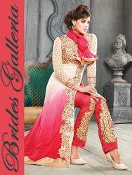 Shaded Designer Pakistani Style Suit
