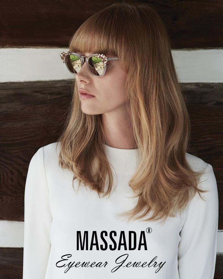 """In a gentle way, you can shake the world."" - Mahatma Gandhi #massadaeyewearjewelry #massada #massadaeyewear"