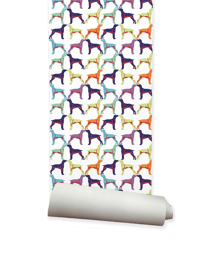 ella and sofia product solutions pty ltd - Kids Wallpaper Off the Leash Multi, $195.00 (http://www.ellaandsofia.com/kids-wallpaper-off-the-leash-multi/)