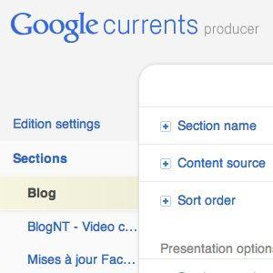 Google Currents Producer