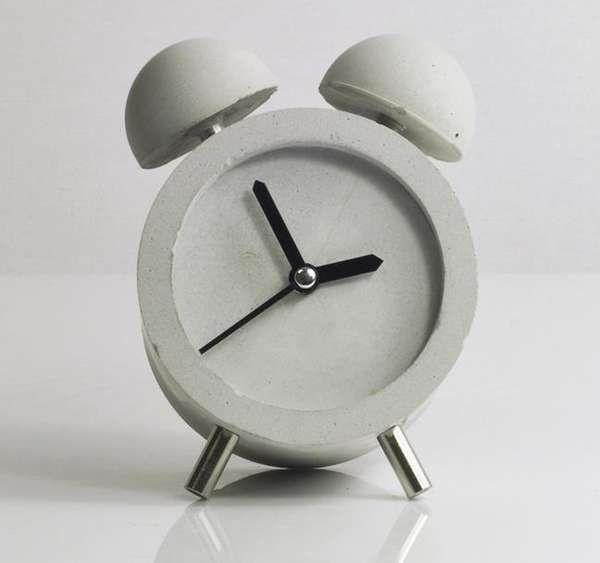 DIY Concrete Clocks