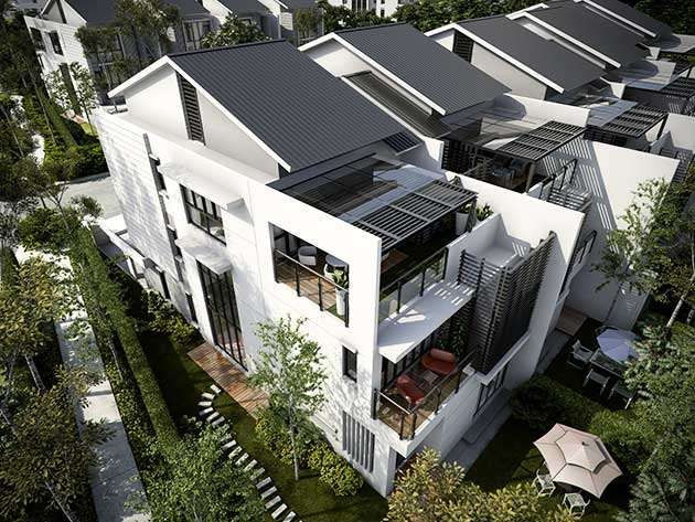 Sejati residences 3 storey superlink eugenia 3 sty for Best house design malaysia