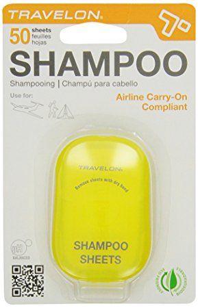 Travelon Shampoo Toiletry Sheets, 50-Count