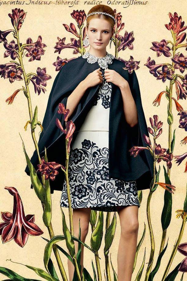 Dolce & Gabbana Spring 2014 Botanical Lookbook