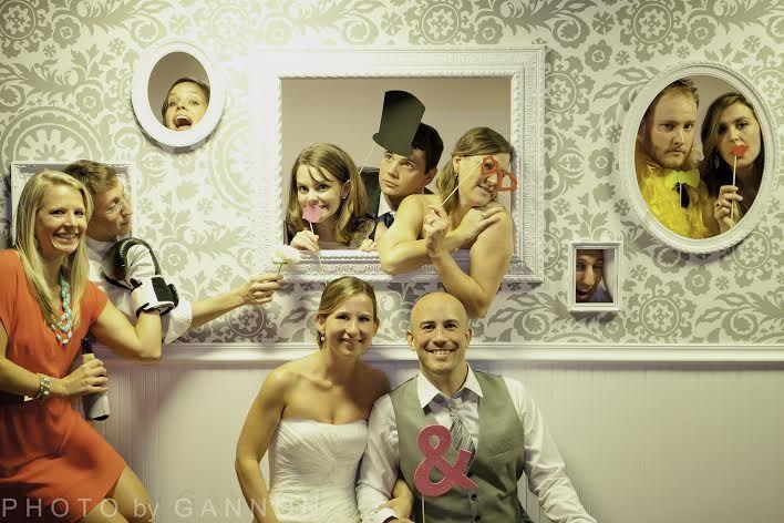 Wedding photo booth idea