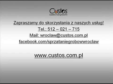 Sprzątanie Grobów - Custos Wroclaw