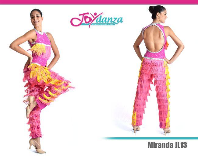 Body e pantalone caraibico - Modello JL13 Completo Caraibico composto da body e pantalone removibile ricoperto di frange colorate #costumicaraibici #costumidanza #costumilatinoamericano