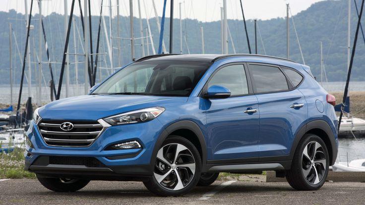 2016 Hyundai Tucson front 3/4 view