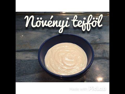 Növényi tejföl házilag   Egyszerű és gyors vegán recept - YouTube