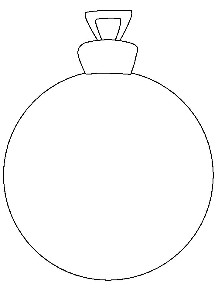 Christmas Ornament Is Great And Very Nice Coloring Page