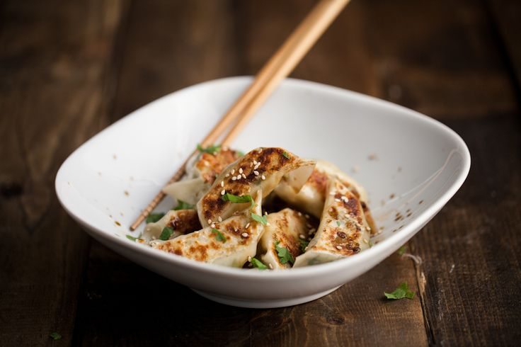 Shaved Brussels Sprouts and Ginger Potstickers | Recipe ...