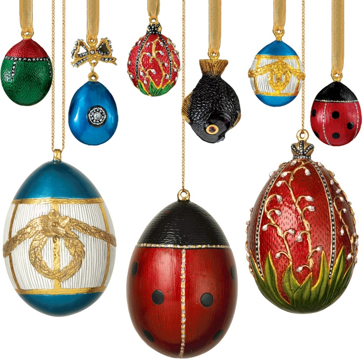 Russian Imperial Large And Miniature Egg Christmas
