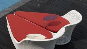 Honeymoon - lehátko pro dva, k bazénu, vířivce, na zahradu #lehatko #zahradninabytek