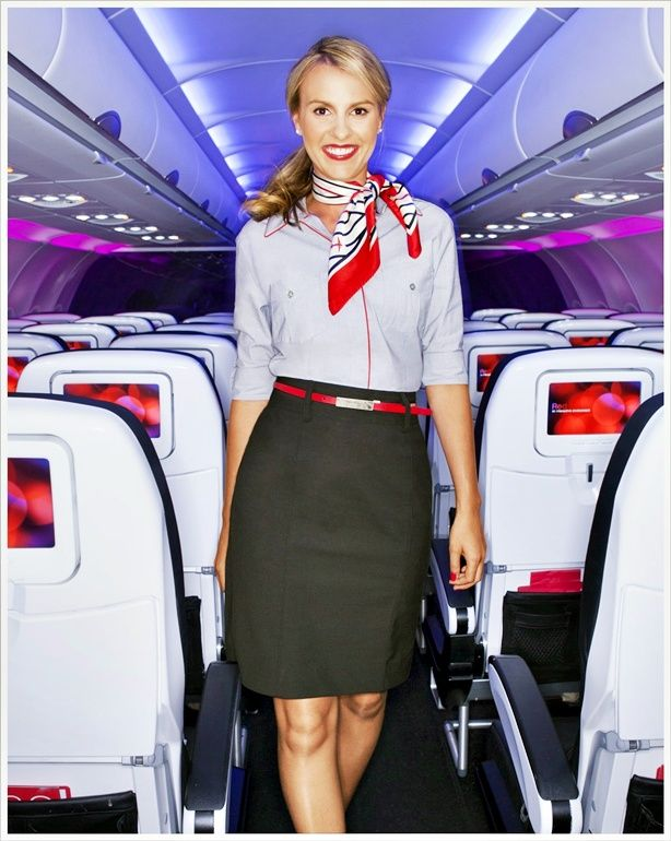 Virgin America :: courtesy of Banana Republic