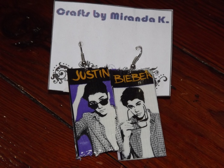 Justin Beiber Duct Tape Earrings only $5!