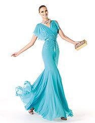 Pronovias apresenta o seu vestido de festa Rivanna da coleção Madrinha 2014. | Pronovias