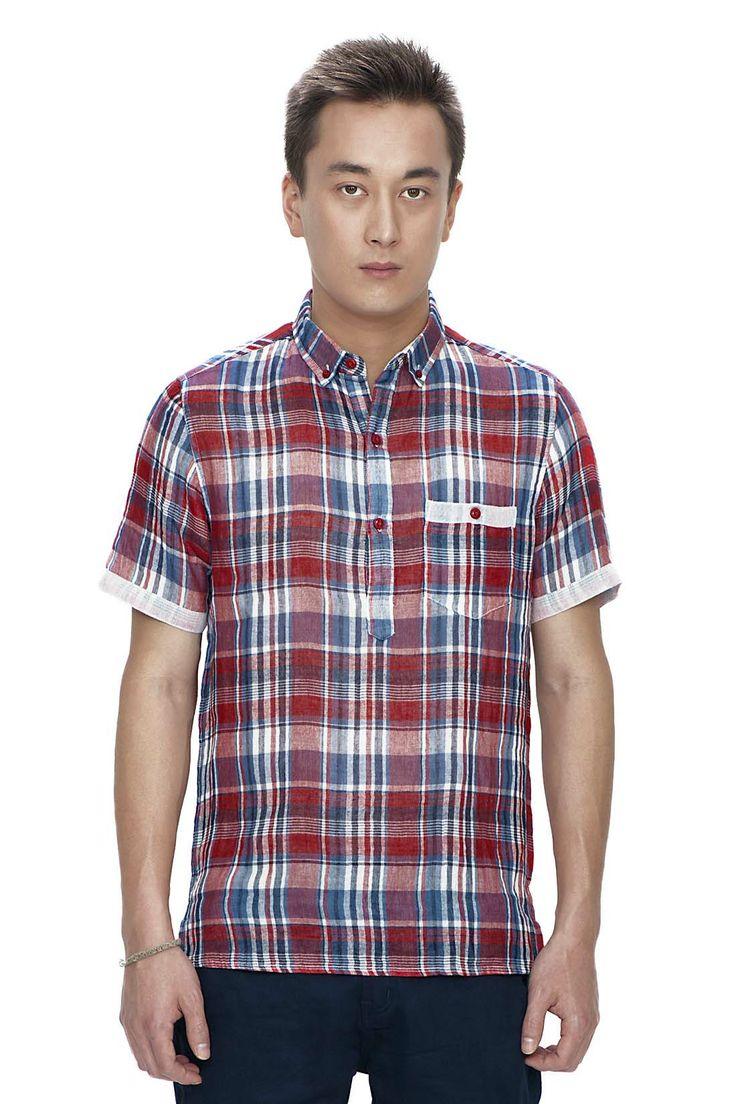 Double Cloth Check Shirt SS/14