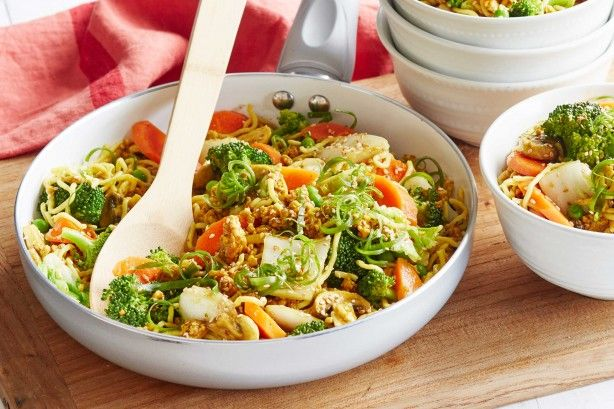 Whip up a speedy family favourite in under 20 minutes with this tasty Asian-inspired chicken noodle dish.