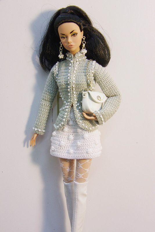 Fashion royalty knit Poppy Parker
